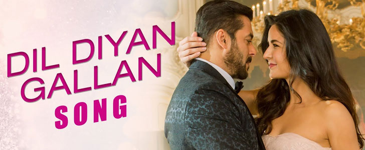 Dil Diyan Gallan lyrics from Tiger Zinda Hai