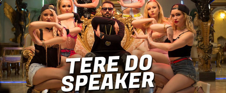 Tere Do Speaker lyrics by Mr Joker