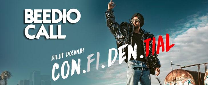 Beedio Call lyrics by Diljit Dosanjh