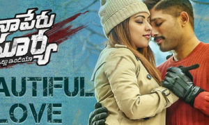 Beautiful Love Lyrics from Naa Peru Surya Naa Illu India