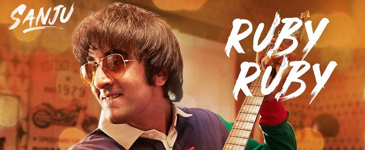 Ruby Ruby lyrics from Sanju