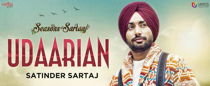 Udaarian lyrics by Satinder Sartaaj