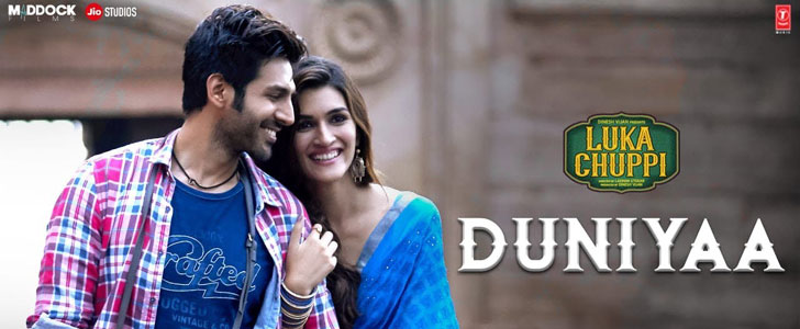 Duniyaa lyrics from Luka Chuppi