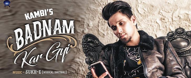 Badnam Kar Gayi lyrics by Kambi