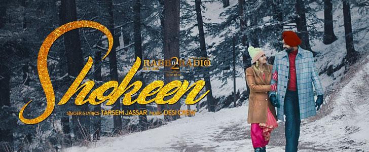 Shokeen lyrics by Tarsem Jassar