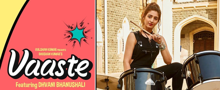Vaaste lyrics by Dhvani Bhanushali