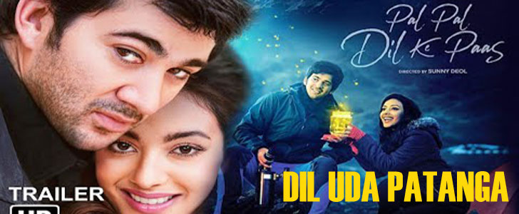 Dil Uda Patanga lyrics from Pal Pal Dil Ke Paas