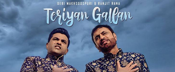 Teriyan Gallan lyrics by Debi Makhsoospuri, Ranjit Rana