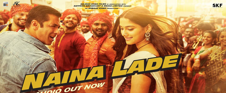 Naina Lade lyrics from Dabangg 3