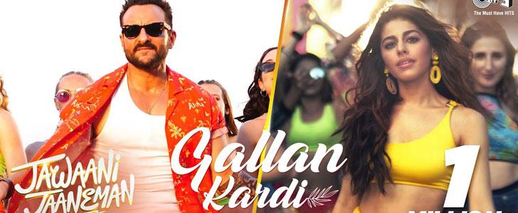 Gallan Kardi lyrics from Jawaani Jaaneman