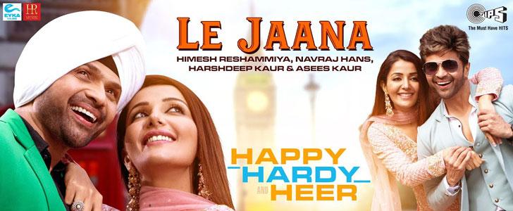 Le Jaana lyrics from Happy Hardy And Heer
