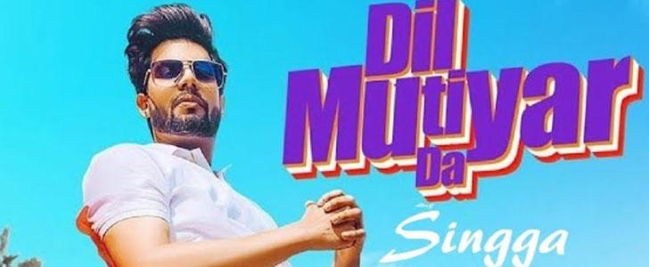 Dil Mutiyar Da Lyrics by Singga