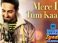 Mere Liye Tum Kaafi Ho Lyrics from Shubh Mangal Zyada Saavdhan