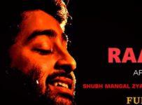 Raakh Lyrics from Shubh Mangal Zyada Saavdhan