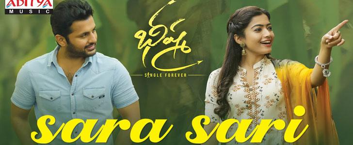 Sara Sari lyrics from Bheeshma