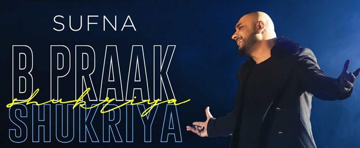 Shukriya Lyrics from Sufna