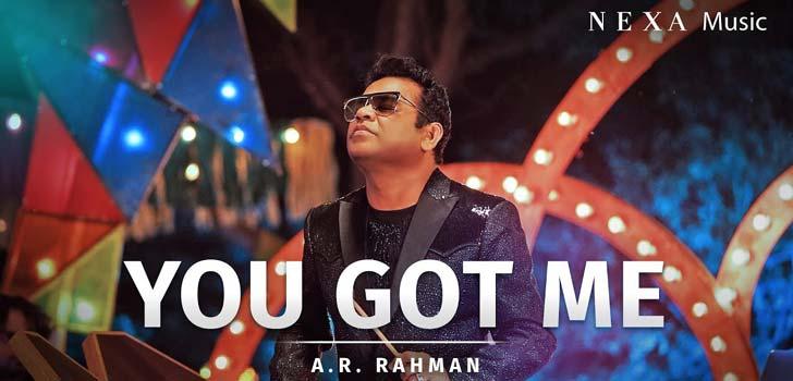 You Got Me Lyrics by Ar Rahman