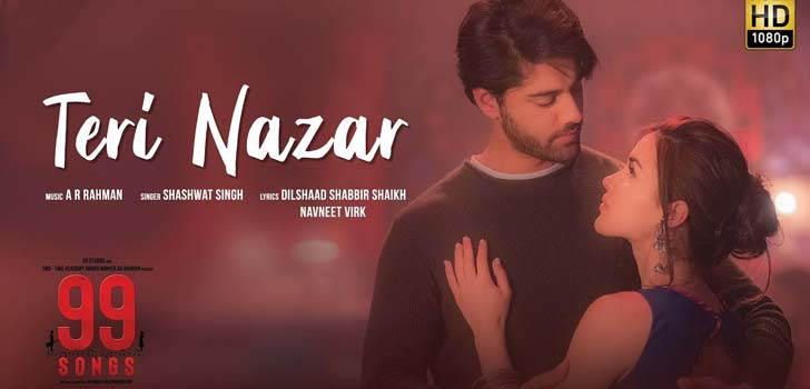 Teri Nazar Lyrics by Shashwat Singh