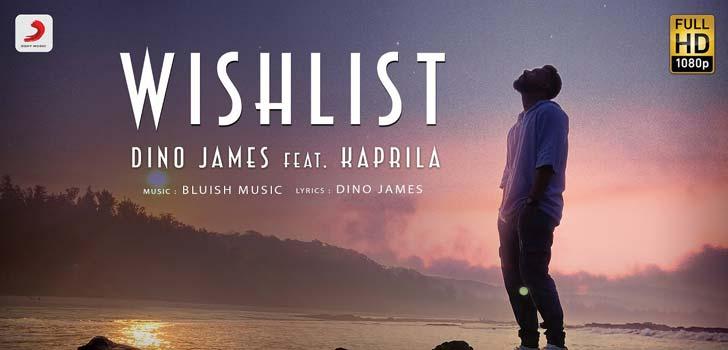 Wishlist Lyrics by Dino James