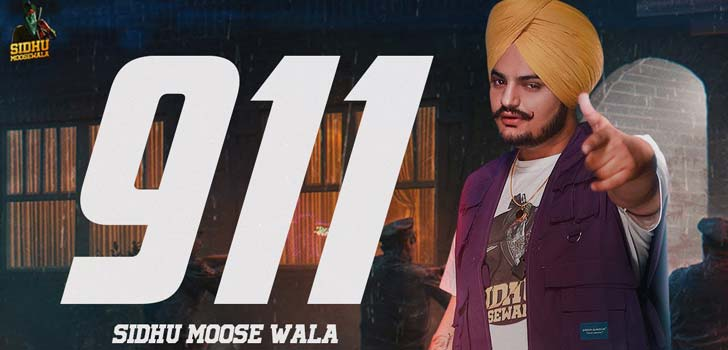 911 Lyrics by Sidhu Moose Wala