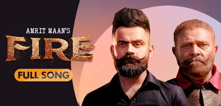 Fire Lyrics by Amrit Maan