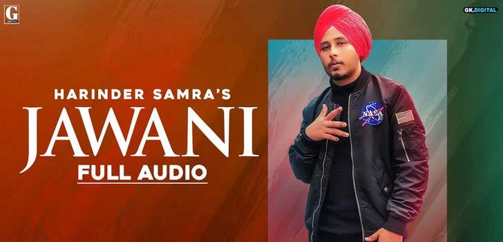 Jawani Lyrics by Harinder Samra