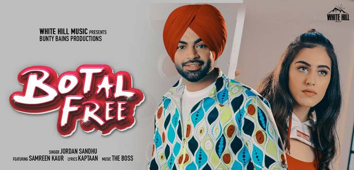 Botal Free Lyrics by Jordan Sandhu