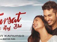 Fursat Hai Aaj Bhi Lyrics by Arjun Kanungo