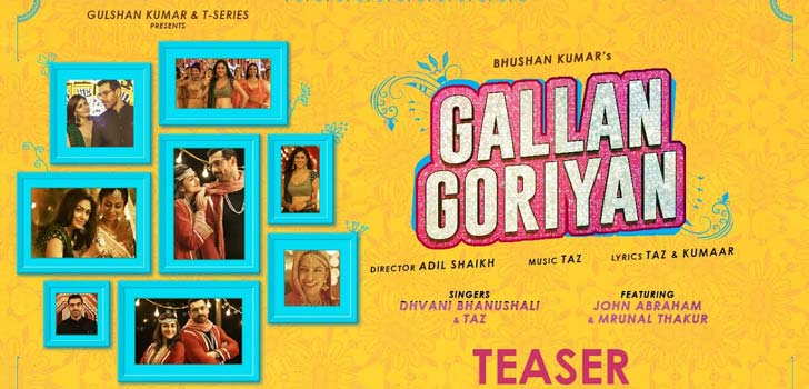Gallan Goriyan Lyrics by Dhvani Bhanushali