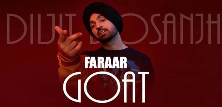 Faraar Lyrics by Diljit Dosanjh