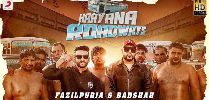 Haryana Roadways Lyrics by Badshah and Fazilpuria