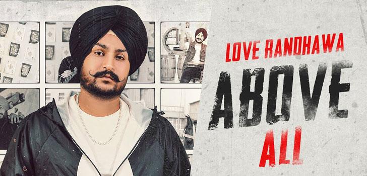 Above All Lyrics by Love Randhawa