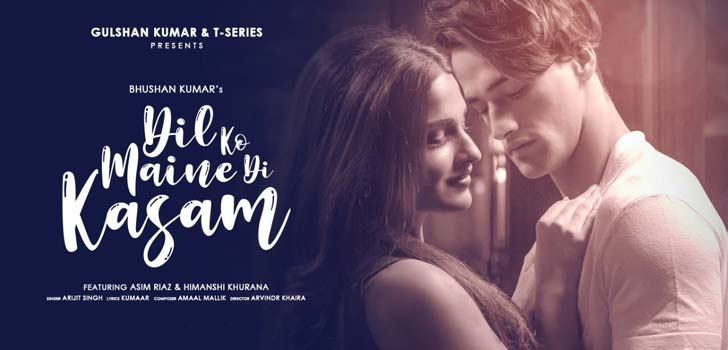 Dil Ko Maine Di Kasam Lyrics by Arijit Singh