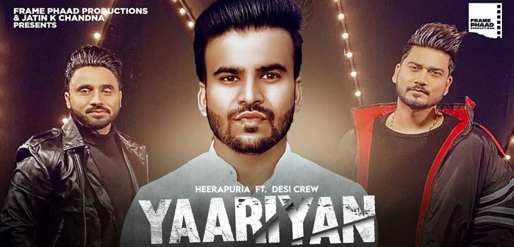 Yaariyan Lyrics by Heerapuria
