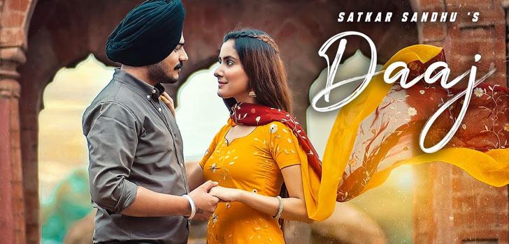 Daaj Lyrics by Satkar Sandhu