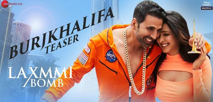 Burj Khalifa Lyrics from Laxmmi Bomb