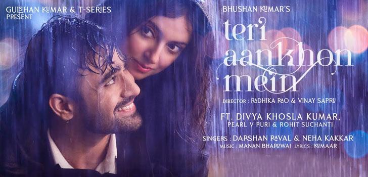 Teri Aankhon Mein Lyrics by Darshan Raval and Neha Kakkar