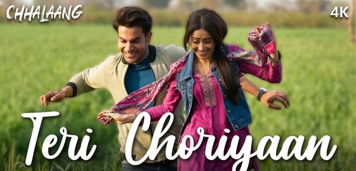 Teri Choriyan Lyrics from Chhalaang by Guru Randhawa