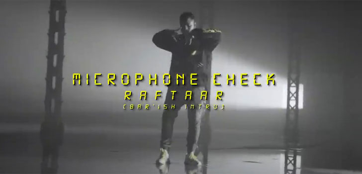 Microphone Check Lyrics by Raftaar
