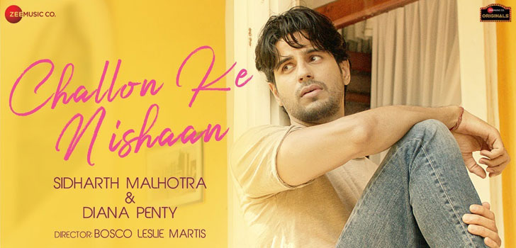 Challon Ke Nishaan Lyrics by Stebin Ben ft Sidharth Malhotra