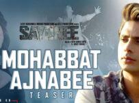 Mohabbat Ajnabee Lyrics from Sayonee