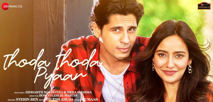 Thoda Thoda Pyaar Lyrics by Stebin Ben