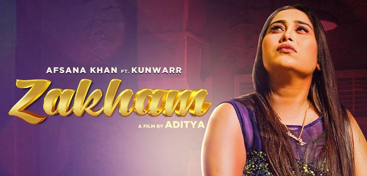 Zakham Lyrics by Afsana Khan