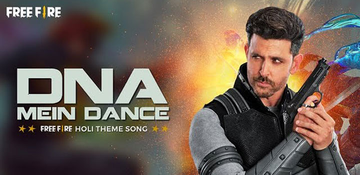 DNA Mein Dance Lyrics by Vishal Shekhar ft Hrithik Roshan
