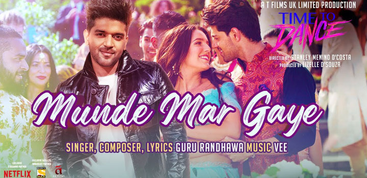 Munde Mar Gaye Lyrics from Time To Dance by Guru Randhawa