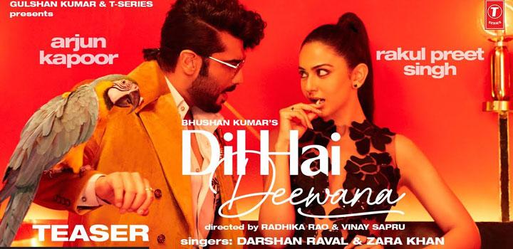 Dil Hai Deewana Lyrics by Darshan Raval