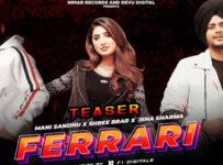 Ferrari Lyrics by Mani Sandhu