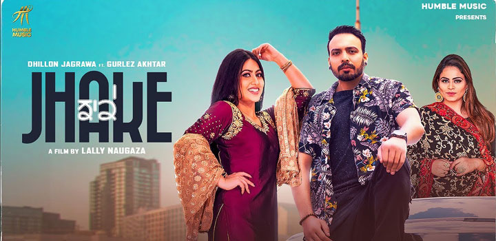Jhake Lyrics by Dhillon Jagrawa