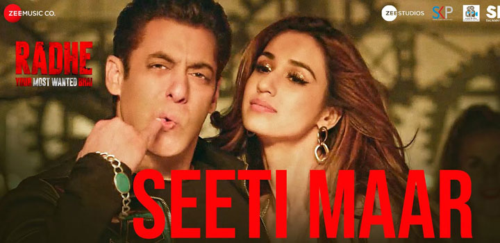 Seeti Maar Lyrics from Radhe ft Salman Khan