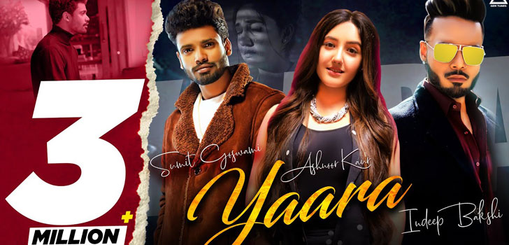 Yaara Lyrics by Sumit Goswami